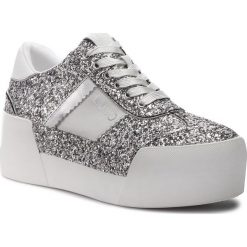 Sneakersy LIU JO - Maxy 01 B68013 TX007 Silver 00532. Szare sneakersy damskie Liu Jo, ze skóry. Za 689,00 zł.