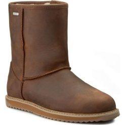 Buty EMU AUSTRALIA - Paterson Leather Lo W11349 Oak. Brązowe buty zimowe damskie EMU Australia, ze skóry. W wyprzedaży za 549,00 zł.