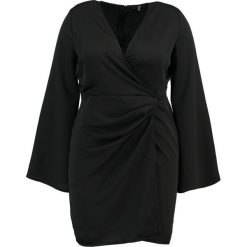Sukienki hiszpanki: Missguided Plus RUCHED Sukienka letnia black