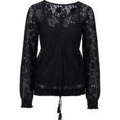 Bluzki asymetryczne: Bluzka koronkowa bonprix czarny