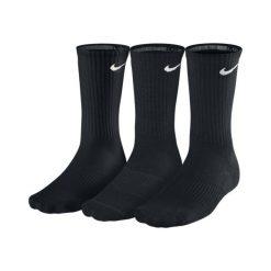 Skarpety Nike 3PPK Cushion Crew (SX4700-001). Czarne skarpetki męskie marki Nike. Za 39,99 zł.