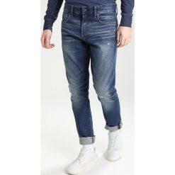 GStar 3301 TAPERED Jeansy Zwężane sena denim. Niebieskie jeansy męskie G-Star. W wyprzedaży za 363,35 zł.