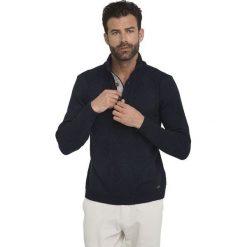 Sir Raymond Tailor Sweter Męski Wave L Ciemny Niebieski. Niebieskie swetry klasyczne męskie Sir Raymond Tailor, l, z dzianiny. Za 195,00 zł.