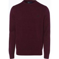 Fred Perry - Sweter męski, czerwony. Czerwone swetry klasyczne męskie Fred Perry, l, z dzianiny. Za 699,95 zł.