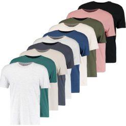 Topman MULTI 10 PACK Tshirt basic multi bright. Czarne koszulki polo Topman, m, z bawełny. W wyprzedaży za 239,20 zł.