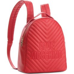 Plecak LOVE MOSCHINO - JC4263PP06KI0500 Rosso. Czerwone plecaki damskie Love Moschino, ze skóry ekologicznej. Za 929,00 zł.