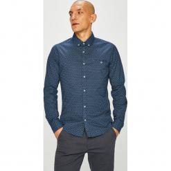 Medicine - Koszula Basic. Szare koszule męskie na spinki marki S.Oliver, l, z bawełny, z włoskim kołnierzykiem, z długim rękawem. Za 99,90 zł.