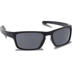 Okulary przeciwsłoneczne OAKLEY - Sliver Stealth OO9408-0156 Matte Black/Prizm Grey. Czarne okulary przeciwsłoneczne męskie aviatory Oakley, z tworzywa sztucznego. W wyprzedaży za 449,00 zł.