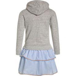 Sukienki dziewczęce letnie: Scotch R'Belle HOODED DRESS WITH STRIPED SKIRT Sukienka letnia grey melange