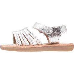Gioseppo Sandały blanco/plata. Szare sandały chłopięce Gioseppo, z materiału. Za 169,00 zł.