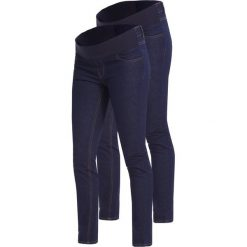 Rurki damskie: New Look Maternity 2 PACK Jeans Skinny Fit blue