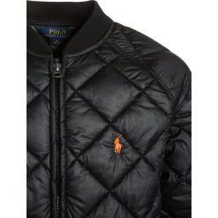 Polo Ralph Lauren BBALL OUTERWEAR Kurtka zimowa black. Czarne kurtki chłopięce zimowe marki Polo Ralph Lauren, z materiału. Za 539,00 zł.