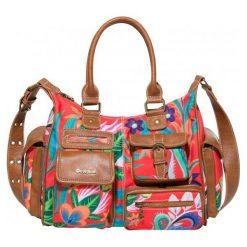 Desigual Torebka Damska Wielokolorowa Liana London Medium. Różowe torebki klasyczne damskie Desigual. Za 350,00 zł.
