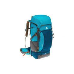 Plecak trekkingowy TRAVEL 500 50l damski. Niebieskie plecaki damskie marki FORCLAZ, z materiału. Za 349,99 zł.