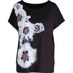 T-shirty damskie: Czarny T-shirt Cinnamon