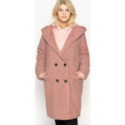 Płaszcze damskie pastelowe: Płaszcz z kapturem