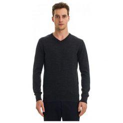 Galvanni Sweter Męski Wodonga L Ciemnoszary. Czarne swetry klasyczne męskie GALVANNI, l, z wełny. W wyprzedaży za 269,00 zł.