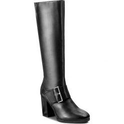 Kozaki CAPRICE - 9-25513-29 Black Nappa 022. Czarne buty zimowe damskie Caprice, z materiału. W wyprzedaży za 379,00 zł.