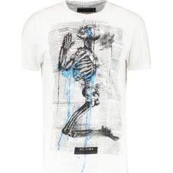 T-shirty męskie z nadrukiem: Religion NEWSPAPER TEE Tshirt z nadrukiem white/black