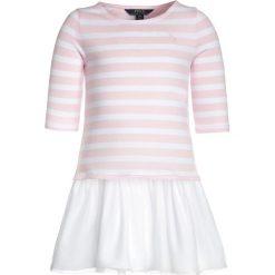 Odzież dziecięca: Polo Ralph Lauren DRESSES Sukienka z dżerseju hint of pink/white