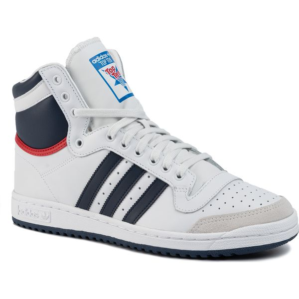 Buty adidas Top Ten Hi D65161 NeowhiNnyColred
