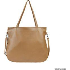 Pacco bag torebka ruda na zamek codzienna vegan. Brązowe torebki klasyczne damskie marki ARTENGO, z materiału. Za 170,00 zł.