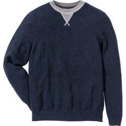 Swetry klasyczne męskie: Sweter Regular Fit bonprix ciemnoniebieski melanż