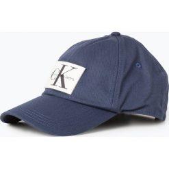 Calvin Klein Jeans - Męska czapka z daszkiem, niebieski. Niebieskie czapki z daszkiem męskie Calvin Klein Jeans. Za 179,95 zł.