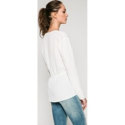 Tommy Jeans - Bluzka. Szare bluzki wizytowe marki Tommy Jeans, l, z jeansu, eleganckie. W wyprzedaży za 199,90 zł.