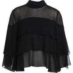 Bluzki asymetryczne: JUST FEMALE AIKA  Bluzka black