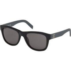 """Okulary przeciwsłoneczne damskie: Okulary przeciwsłoneczne """"JC597S 01A"""" w kolorze czarnym"""