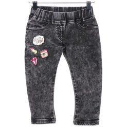 Primigi Jeansy Dziewczęce 98 Czarny. Czarne jeansy dziewczęce marki Primigi, z jeansu. W wyprzedaży za 109,00 zł.