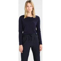 Bluzki asymetryczne: Rich & Royal SPLICE CREW Bluzka z długim rękawem deep blue