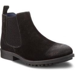 Kozaki S.OLIVER - 5-15401-21 Black 001. Czarne buty zimowe męskie S.Oliver, z materiału. W wyprzedaży za 219,00 zł.