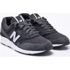 New Balance - Buty WL697SHC. Szare buty sportowe damskie New Balance, z materiału. W wyprzedaży za 359,90 zł.