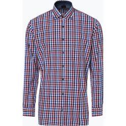 OLYMP Casual modern fit - Koszula męska, czerwony. Czerwone koszule męskie na spinki marki OLYMP Casual modern fit, m, w kratkę. Za 149,95 zł.