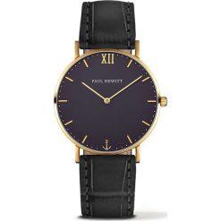 Zegarek unisex Paul Hewitt Sailor PH-SA-G-ST-B-15M. Czarne zegarki męskie marki Paul Hewitt. Za 675,00 zł.