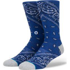 Skarpety Stance Foundation Barrio 2 (M545D17BAR-BLUE). Niebieskie skarpetki męskie marki Stance. Za 29,99 zł.