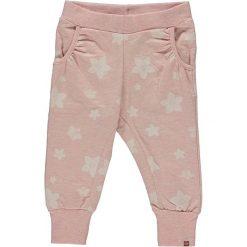 """Spodnie niemowlęce: Spodnie dresowe """"Papina"""" w kolorze różowym"""