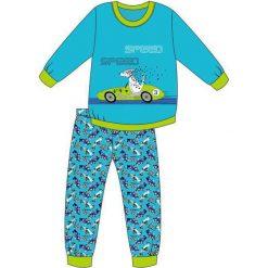 Bielizna chłopięca: Piżama Kids Boy 593/75 Speed turkusowa r. 92