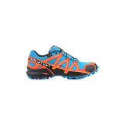 Buty do biegania Salomon  Speedcross 4 GTX 401248. Szare buty do biegania męskie marki Salomon, z gore-texu, na sznurówki, gore-tex. Za 499,10 zł.