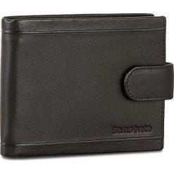 Duży Portfel Męski SAMSONITE - 001-01460-0294-01 Black. Czarne portfele męskie marki Samsonite, ze skóry. W wyprzedaży za 189,00 zł.