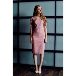 Sukienki: Sukienka Klio pudroworóżowa 32