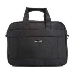 Czarna Torba na Laptopa Eastside. Czarne torby na laptopa marki Born2be. Za 44,99 zł.