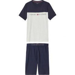 Piżamy męskie: Wzorzysta bawełniana piżama letnia
