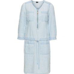 Sukienki hiszpanki: Sukienka bonprix jasnoniebieski