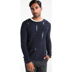 Swetry klasyczne męskie: Key Largo PIETRO Sweter navy