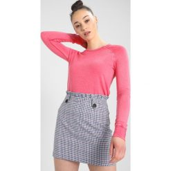 Bluzy rozpinane damskie: Sundry CROP VINTAGE BLUSH Bluza hibiscus