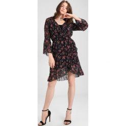 Sukienki hiszpanki: WAL G. RUFFLE SLEEVE FLORAL DRESS Sukienka letnia black