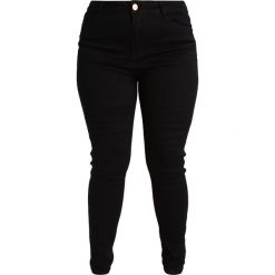 Lost Ink Plus Jeansy Slim Fit black. Czarne jeansy damskie marki Lost Ink Plus, z bawełny. Za 189,00 zł.
